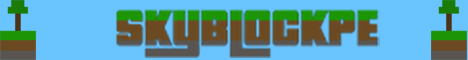 SkyBlockPE, Minecraft PE server